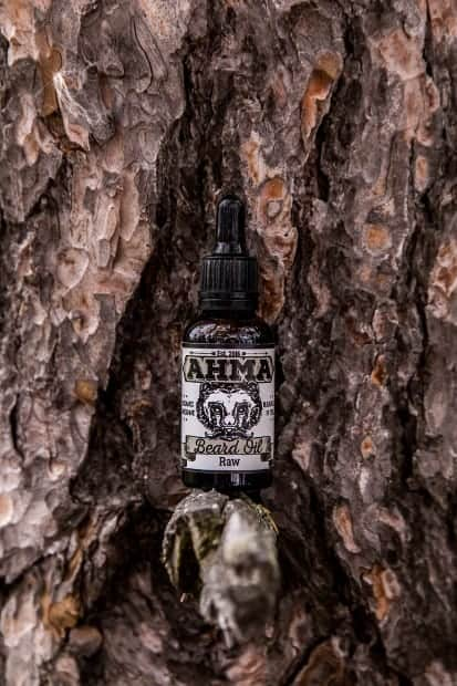 Ahma Beard Oil Raw